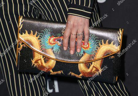 Gabrielle Ruiz, bag detail