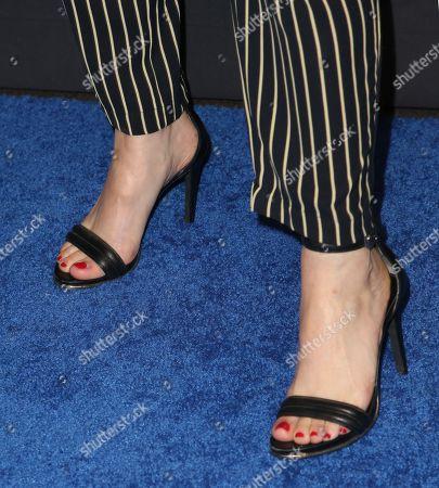 Gabrielle Ruiz, shoe detail