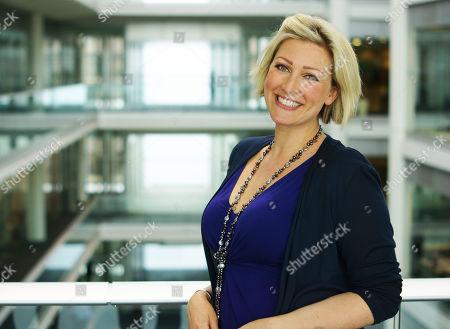 Stock Image of Presenter Becky Mantin