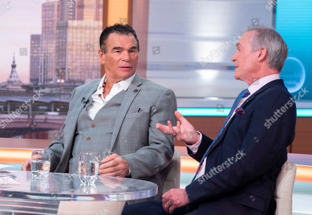 Stock Image of Paddy Doherty and Dr Hilary Jones