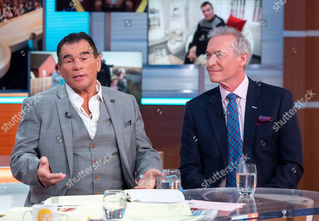 Paddy Doherty and Dr Hilary Jones