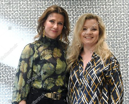 Princess Martha Louise of Norway and author Elisabeth Nordeng