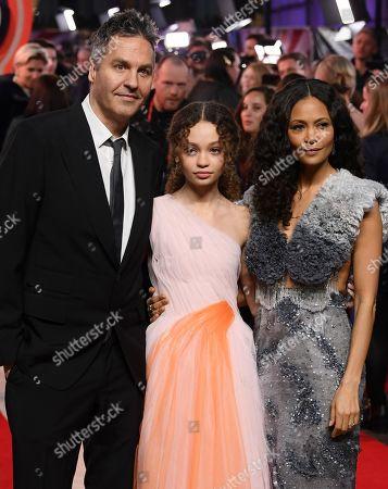 Ol Parker, Nico Parker and Thandie Newton