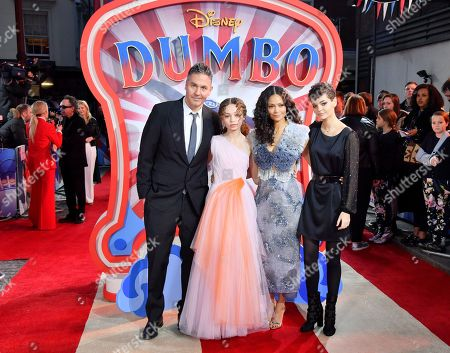Editorial picture of 'Dumbo' film premiere, London, UK - 21 Mar 2019
