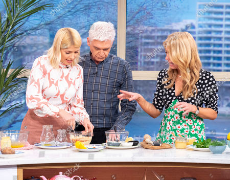 Clodagh McKenna, Phillip Schofield and Holly Willoughby