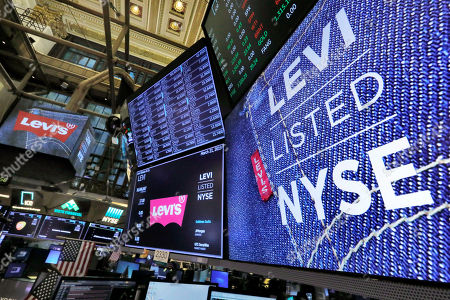Ipo levis wal street in jeans