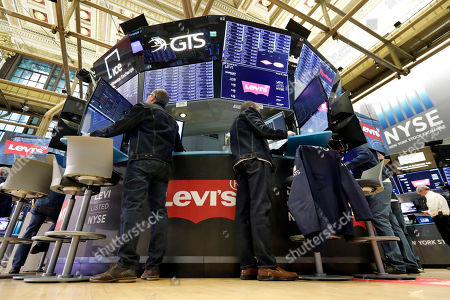 """The """"No Blue Jeans"""" rule was relaxed on the floor of the New York Stock Exchange, . Levi Strauss & Co., which gave America its first pair of blue jeans, is going public for the second time. The 166-year-old company, which owns the Dockers and Denizen brands, previously went public in 1971, but the namesake founder's descendants took it private again in 1985"""