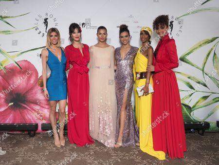 Alexandre Rosenfeld, Mareva Galanter, Camille Cerf, Marine Lorphelin, Sonia Rolland, Flora Coquerel.