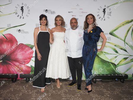 Helena Neguerra Sylvie Tellier, Frederic Anton, Sandrine Quetier