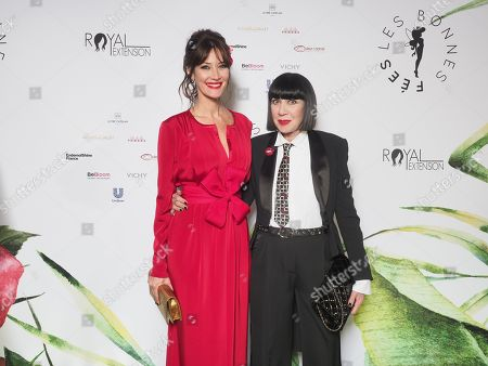 Mareva Galanter et Chantal Thomass