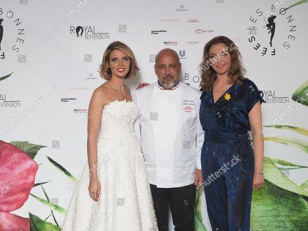 Sylvie Tellier, Frederic Anton et Sandrine Quetier