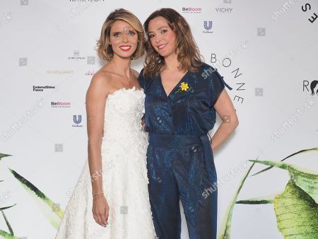 Syvlie Tellier et Sandrine Quetier