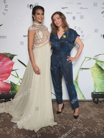 Vaimalama Chaves, Miss France 2019 et Sandrine Quetier