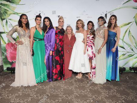 Chloe Mortaud, Elodie Gossuin, Melody Vilbert, Corinne Coman, Vaimalama Chaves Miss France 2019, Sophie Thalmann, Sylvie Tellier, Valerie Damidot, Karine Ferri