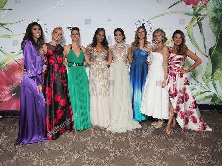 Chloe Mortaud, Elodie Gossuin, Melody Vilbert, Corinne Coman, Vaimalama Chaves Miss France 2019, Sophie Thalmann, Sylvie Tellier, Karine Ferri