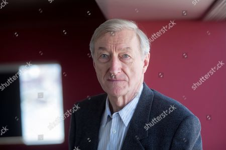 British writer Julian Barnes poses at the Literature Festival Kosmopolis19 in Barcelona, Spain, 21 March 2019. Barnes presents the Spanish edition of his novel 'The Only Story' at the festival.