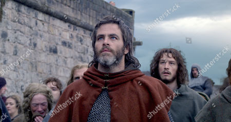 Stock Picture of Chris Pine as and Robert Bruce, Earl of Carrick and Lorne MacFadyen as Neil Bruce