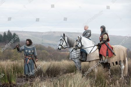 Aaron Taylor-Johnson as James Douglas, Lord of Douglas, Sam Spruell as Aymer de Valence, Earl of Pembroke and Billy Howle as Edward, Prince Charles