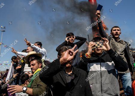 Kurdish New Year celebrations Stock Photos (Exclusive