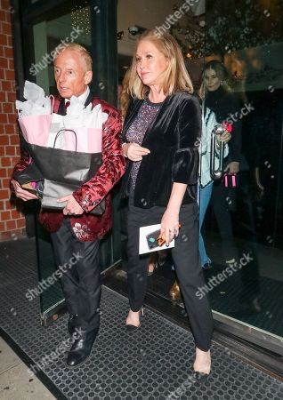 Editorial picture of Faye Resnick and Kathy Hilton out and about, Los Angeles, USA - 20 Mar 2019