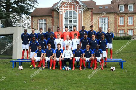 Editorial photo of French football official team group, Clairefontaine-en-Yvelines, France - 20 Mar 2019