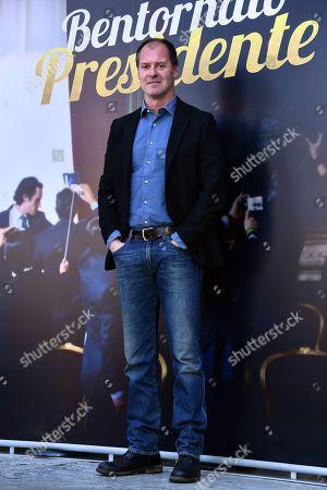 Editorial photo of 'Bentornato Presidente' film photocall, Rome, Italy - 21 Mar 2019
