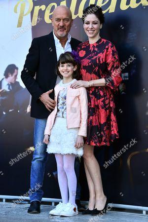 Claudio Bisio, Sarah Felberbaum and Roberta Volponi