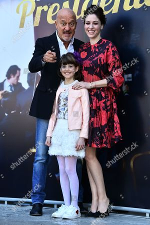 Editorial picture of 'Bentornato Presidente' film photocall, Rome, Italy - 21 Mar 2019