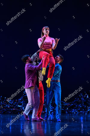 Editorial photo of 'Pepperland' performed by Mark Morris Dance Group, London, UK - 20 Mar 2019
