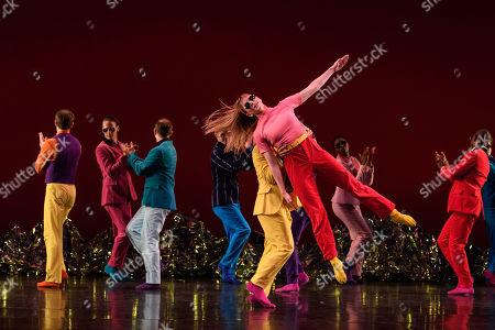 Stock Photo of Costume design is by Elizabeth Kurtzman. The dancers are: Mica Bernas, Sam Black, Brandon Cournay, John Eirich, Domingo Estrada, Jr., Lesley Garrison, Lauren Grant, Sarah Haarmann, Deepa Liegel, Laurel, Lynch, Dallas McMurray, Minga Prather, Brandon Randolph, Nicole Sabella, Christina Sahaida, Billy Smith, Noah Vinson.