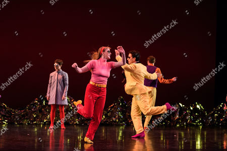 Editorial picture of 'Pepperland' performed by Mark Morris Dance Group, London, UK - 20 Mar 2019