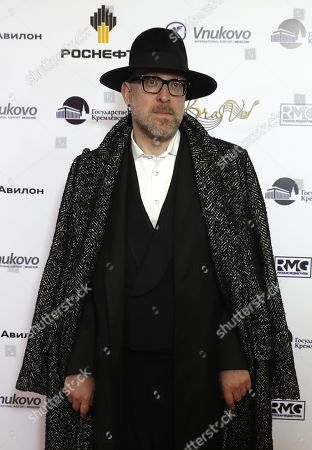Stock Picture of Mario Biondi poses during the 2nd award ceremony of the International Professional Music Award 'BraVo' in the field of popular music at the State Kremlin Palace in Moscow, Russia, 21 March 2019.
