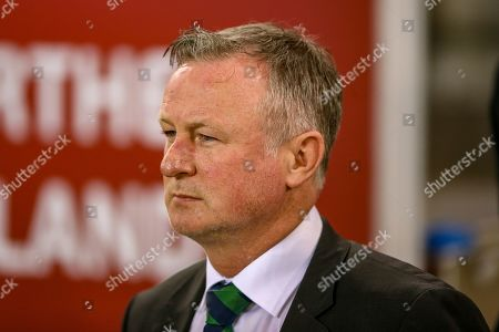Editorial photo of Northern Ireland v Estonia, UEFA European 2020 Qualifier - 21 Mar 2019