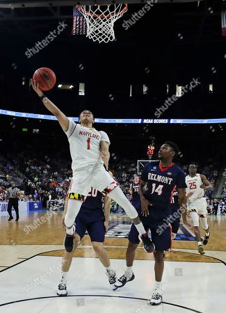 Editorial photo of NCAA Belmont Maryland Basketball, Jacksonville, USA - 21 Mar 2019