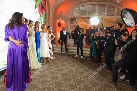Vaimalama Chaves, Miss France 2019, Sophie Thalmann and Sylvie Tellier