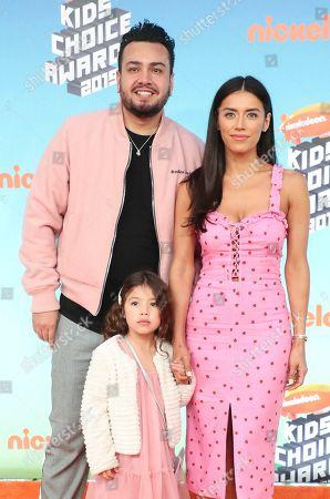 Frankie Delgado, Jennifer Acosta and Bella Delgado