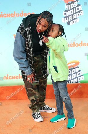 Tyga and King Cairo Stevenson