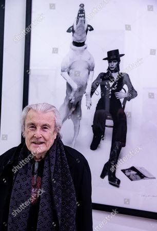 Legendary Celebrity Photographer, Terry O'Neill, in conversation at Box Galleries, Chelsea, London.