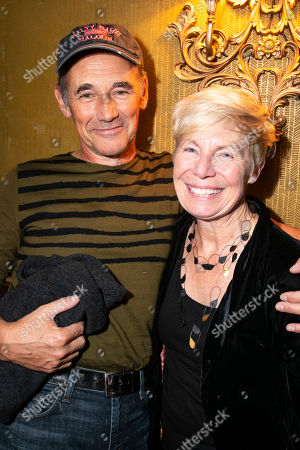 Stock Image of Mark Rylance and Claire van Kampen