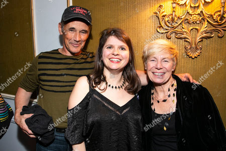 Mark Rylance, Eleanor Lloyd (Producer) and Claire van Kampen