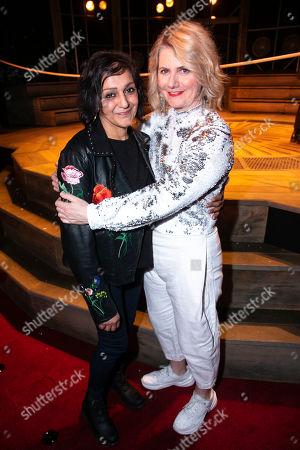 Meera Syal and Jackie Clune (Lord Thomas Howard/Hester/Lady Helena)