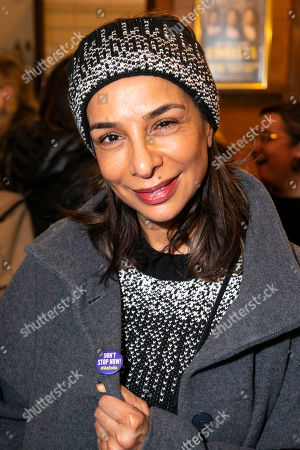 Editorial photo of 'Emilia' party, West End Transfer, London, UK - 21 Mar 2019