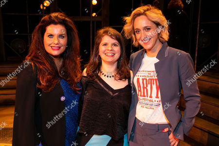 Stock Image of Eilene Davidson (Producer), Eleanor Lloyd (Producer) and Kate Pakenham (Producer)