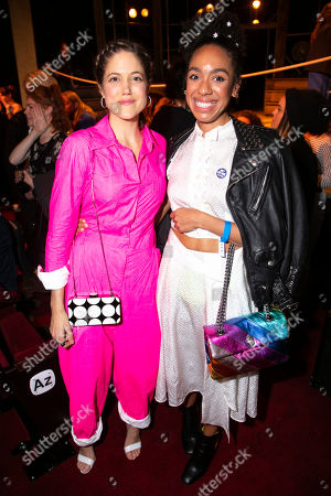 Charity Wakefield (William Shakespeare/Valentine Simmes) and Pearl Mackie