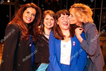 Editorial image of 'Emilia' party, West End Transfer, London, UK - 21 Mar 2019