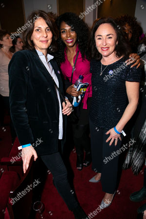 Gina Bellman, Sinitta and Samantha Spiro