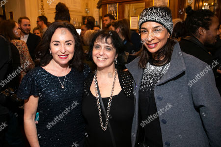 Stock Picture of Samantha Spiro, Nica Burns (Producer) and Shobna Gulati
