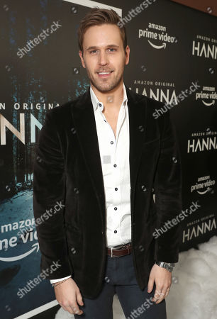 Dan Amboyer attends the Amazon Studios Hanna Premiere at The Whitby hotell on March 21, 2019, in New York, NY.