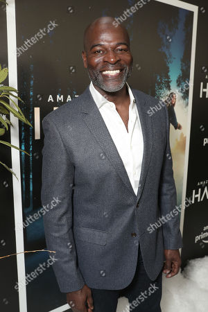 Hisham Tawfiq attends the Amazon Studios Hanna Premiere at The Whitby hotell on March 21, 2019, in New York, NY.