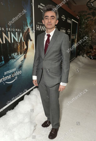 Writer and Executive Producer David Farr attends the Amazon Studios Hanna Premiere at The Whitby hotell on March 21, 2019, in New York, NY.